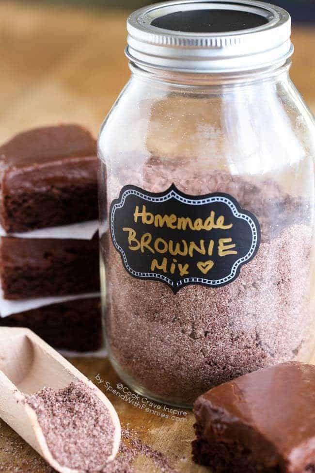 Homemade Brownie Mix 26