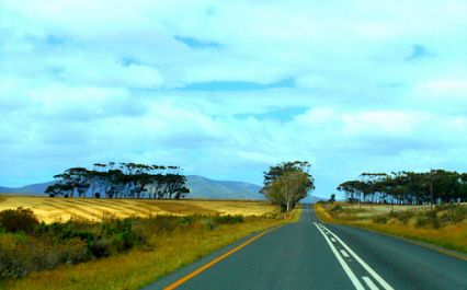 The road between Riviersonderend and Stanford by RobW