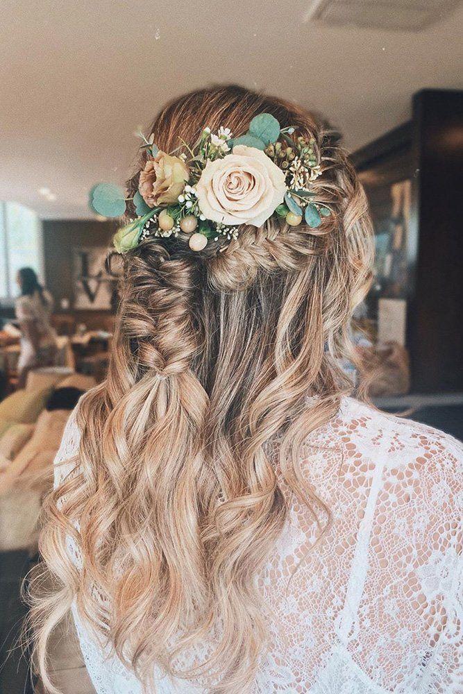 Pin Von Stephanie Guckel Auf Hochzeitsfrisuren Hochzeitsfrisuren