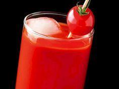 Gençleştiren domatesli içecek