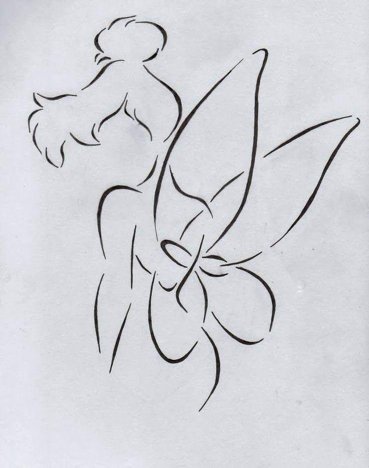 fairy silhouette tattoo - Google Search