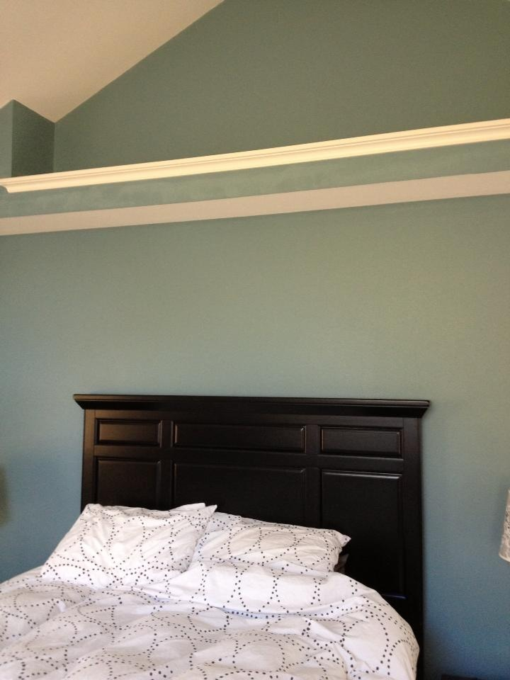 Master Br Sw 6221 Moody Blue Walls Sw 7012 Creamy