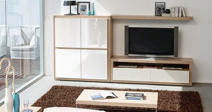 Composici n para sal n mistral de expormim mueble tv con for Muebles de salon lacados