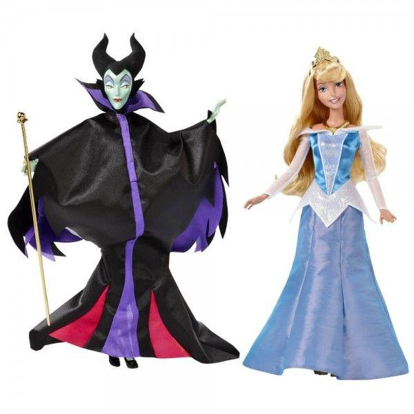 Prinţesele Disney De Colecţie Păpuşa Frumoasa Şi Maleficent