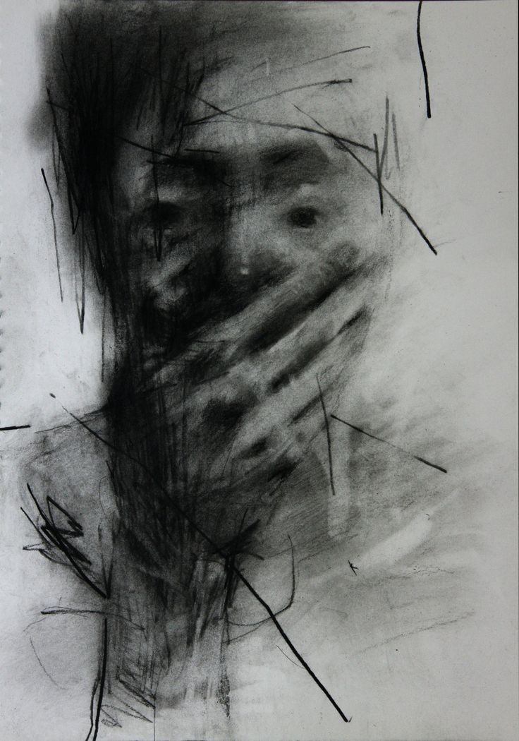 (9) Untitled Conte On Paper 35.5 X 26 2013 by ShinKwangHo.deviantart.com on @deviantART