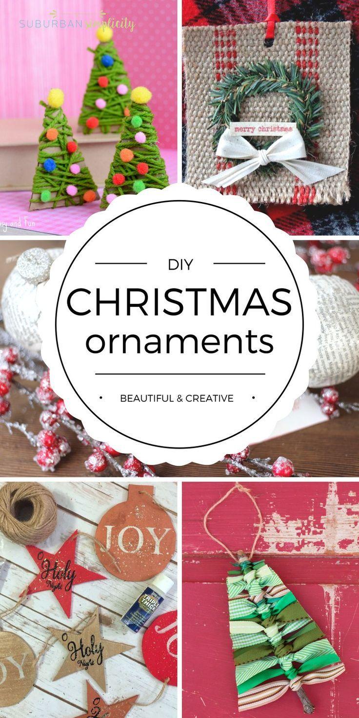 2016 12 christmas diy paper decorations 187 home design 2017 - Diy Christmas Ornaments