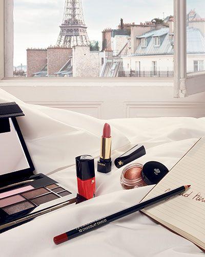 Caroline de Maigret X Lancôme / collab makeup 2015