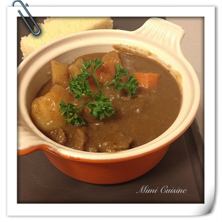 Tajine de boeuf aux 4 épices by Thermomix - Mimi Cuisine