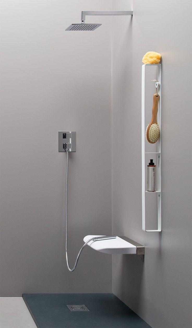Sedile doccia ribaltabile TUCK TRAY | Sedile doccia - EVER by Thermomat Saniline
