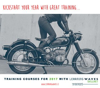 Learning Waves Skillnet will help you kick start 2017 with some great training programmes scheduled for January and February 2017. The schedule currently contains programmes in the areas of Mobile Journalism, Speech & Voice Training, Occupational First Aid Training, Psychology of Selling, Negotiation Skills, Introduction to Radio Sales and Sales Presentation Skills. We are currently working with trainers to bring you programmes in the areas of :    Storytelling and Original Journalism ...