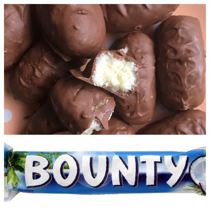 DIY 3 ingredients only Bounty Bars, delicious and quick coconut treat. This is not only heaven in mouth but it also is so much cheaper than regular Bounty Bars! It worked out app. €0.40/2 pieces, s…