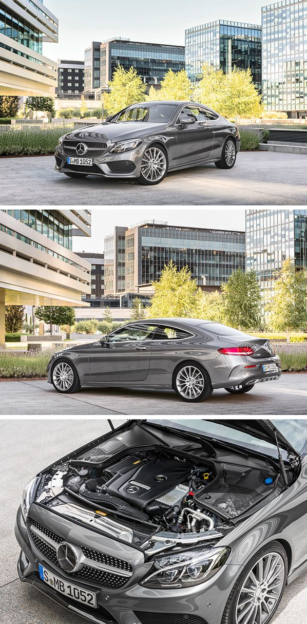 The new Mercedes-Benz C-Class Coupé offers a high level of comfort with low road roar and tyre vibration whilst ensuring agile driving dynamics – the basis for driving enjoyment.