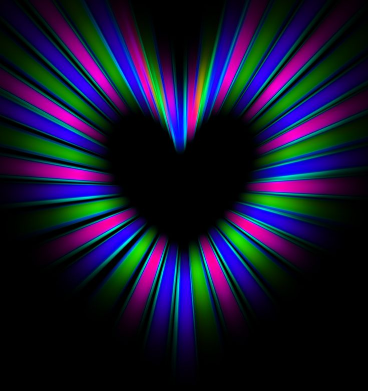 Stare at the middle and watch the heart grow. WOW!!!
