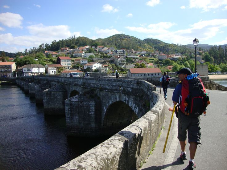 Pass by old bridges and paths that remain from Roman times.