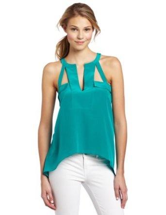 Clothing / Kayleen Halter With Draped Hem Top http://www.kachavilla.com/l7y2