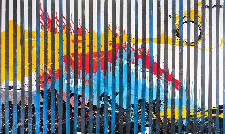 "Antonio Meneghetti / ""Trasparenza"" / 2011 / 300x180 / acrylic&nitro on canvas #Abstraction, #art, #Meneghetti"