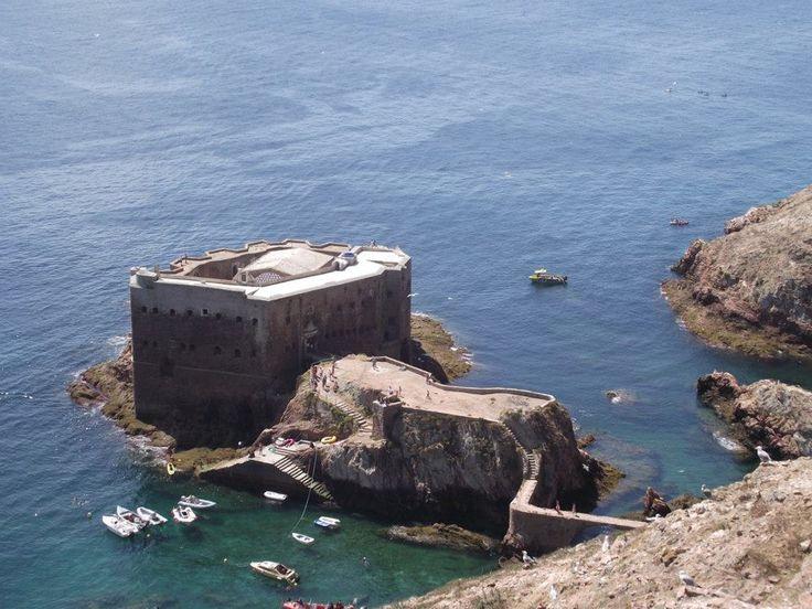 Forte da Ilha das Berlengas em 1012