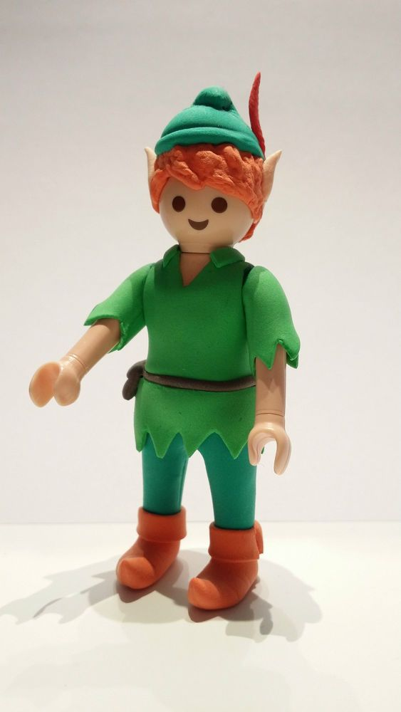 FIGURA CUSTOM Peter Pan Disney PLAYMOBIL