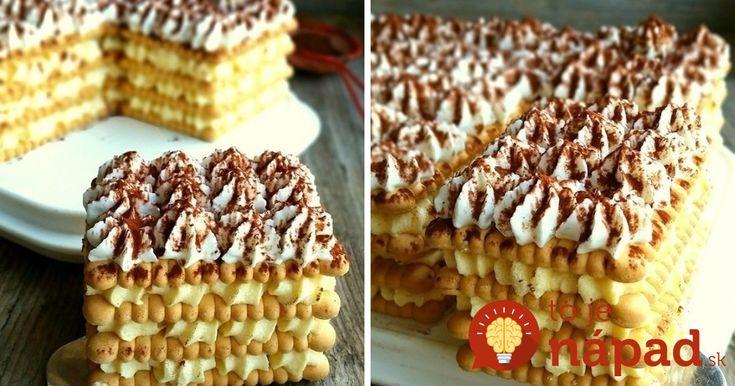 Vynikajúci dezert s jednoduchou a rýchlou prípravou. Ak mu chcete dodať skutočne luxusný vzhľad, použite na dávkovanie krému cukrárske vrecko. Výsledok je perfektný! :-)
