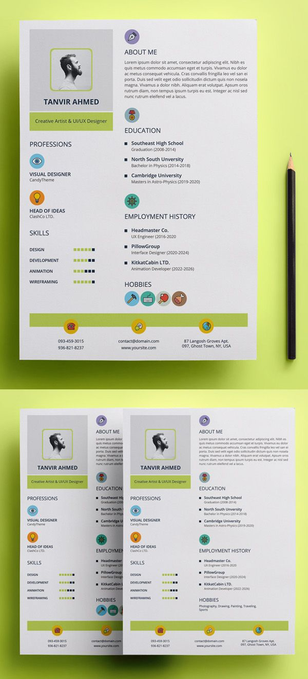Creative Stylish Resume Template