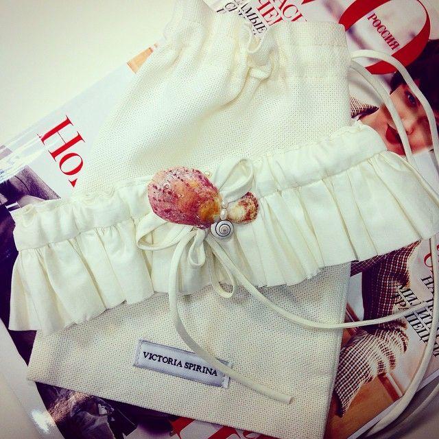 #wedding_accessories #garter #sea #shell #bridal #beach_wedding #свадьба_на_пляже #tropics #trip