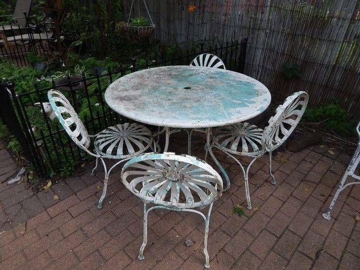 Heavy Wrought Iron Patio Furniture Metal Patio Furniture Iron