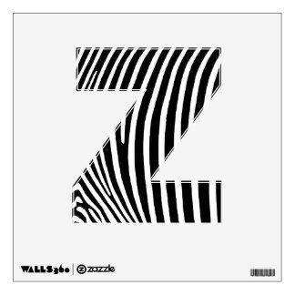Z is for zebra. Every zebra has different stripes from another zebra. As a human don't be afraid to dress like you want!