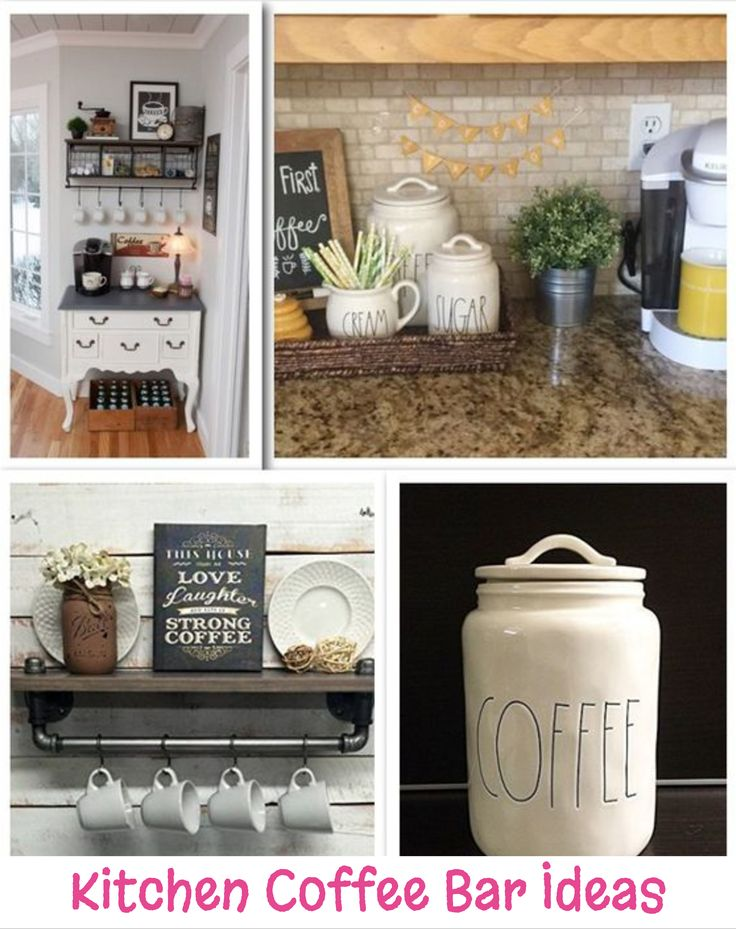 174 best coffee bar ideas diy home coffee bars images on for Coffee bar design ideas