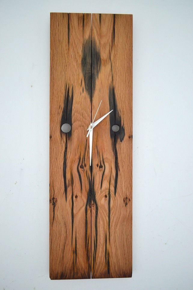 Bolt hole Railway sleeper clock £45.00