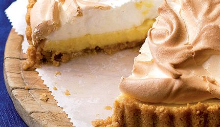 Delicious, easy to make Lemon meringue with a kick.