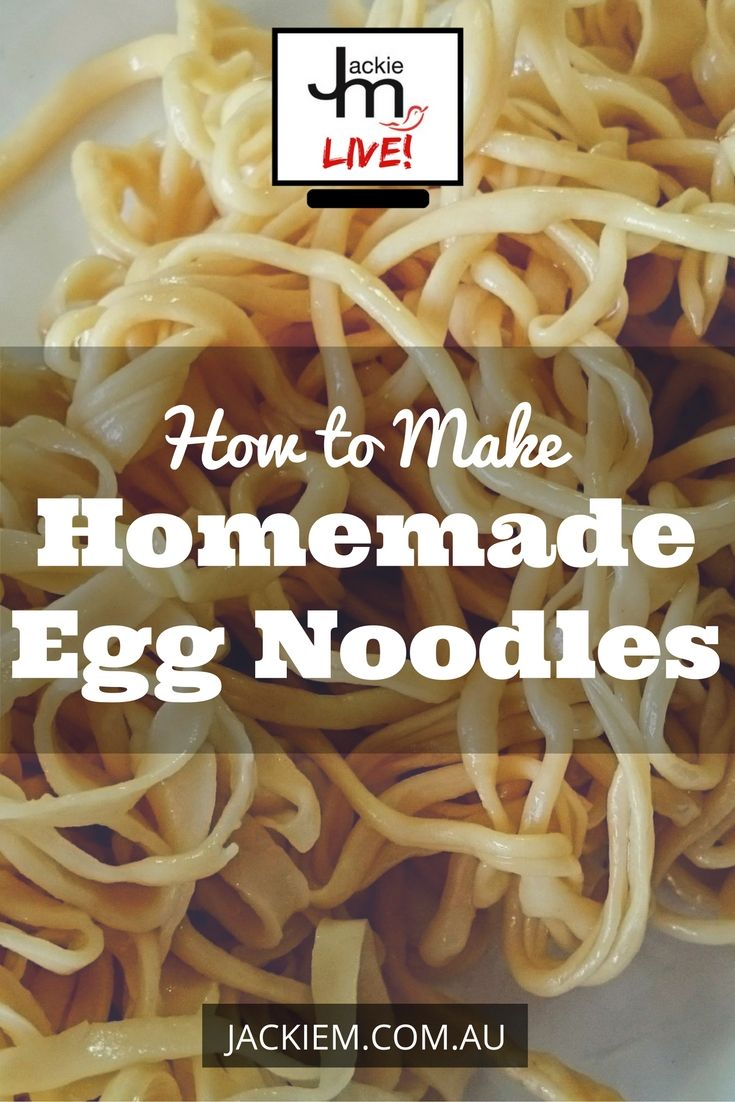 Learn how to make homemade egg noodles perfect for your Southeast Asian noodle dishes.