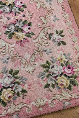 vintage home the north wind doth rosy rug