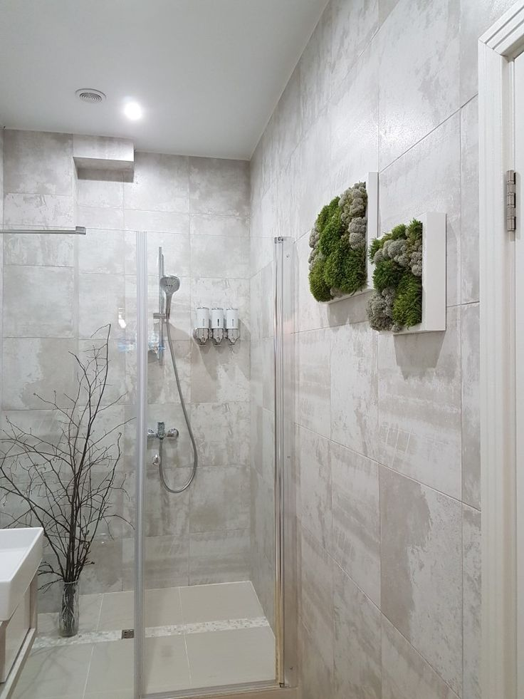 Moss ideas .  Looks great in my bathroom.