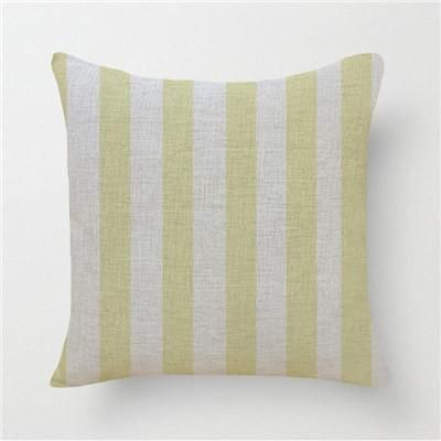Wholesales Linen Pillow Cover Yellow Grey Cushion Cover Nordic Geometric Style Home Decorative Pillow Case Sofa Pillow Cover