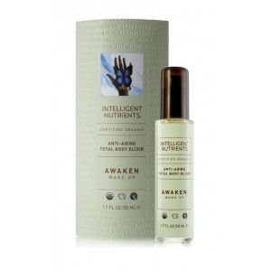 || Certified Organic Total Body Elixir: Awaken—Wake Up - $32 || Seven luxurious, hydrating, anti-aging, all over body tonics – designed to promote relaxation, stimulation and self-healing as a massage oil and as a moisturizer for certified organic, healthy skin. Created to feed and protect the skin, these antioxidant rich elixirs contain Intellimune Seed Oil Complex to improve skin quality, promoting even skin tone, firmness and luminosity.    $32  SKU: 35946. Category: Body Care.