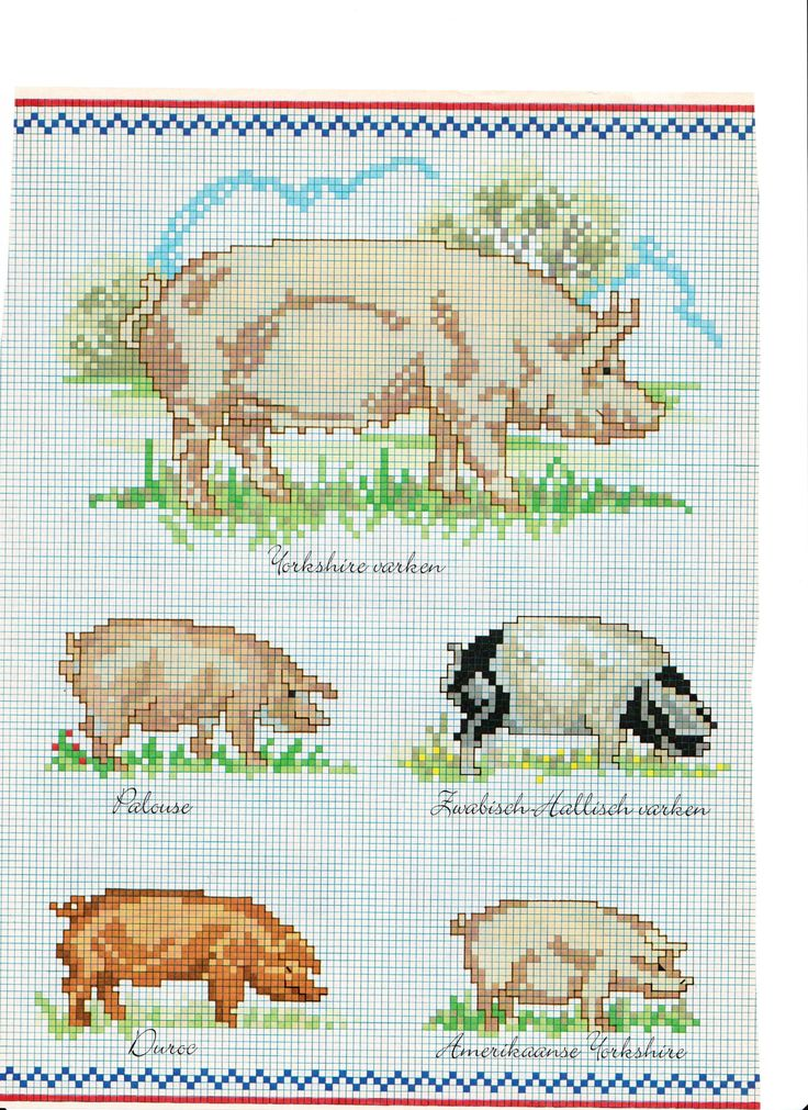 Best images about embroidery farm animals on