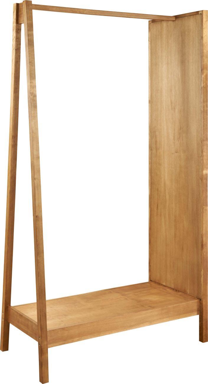 Klesstativ med klassiske former. Består av et stort speil og lagringsplass for sko eller annet tilbehør mellom føttene. Laget av eikefinér og har god høyde. Tar liten plass i og med at den ikke er så dyp, og passer derfor godt inn på smale rom. Passer fint i gang eller på soverom. Mål: L.100 x …