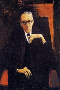 Winner: Archibald Prize 1965 Clifton Pugh Title RA Henderson, Esq Medium oil on board