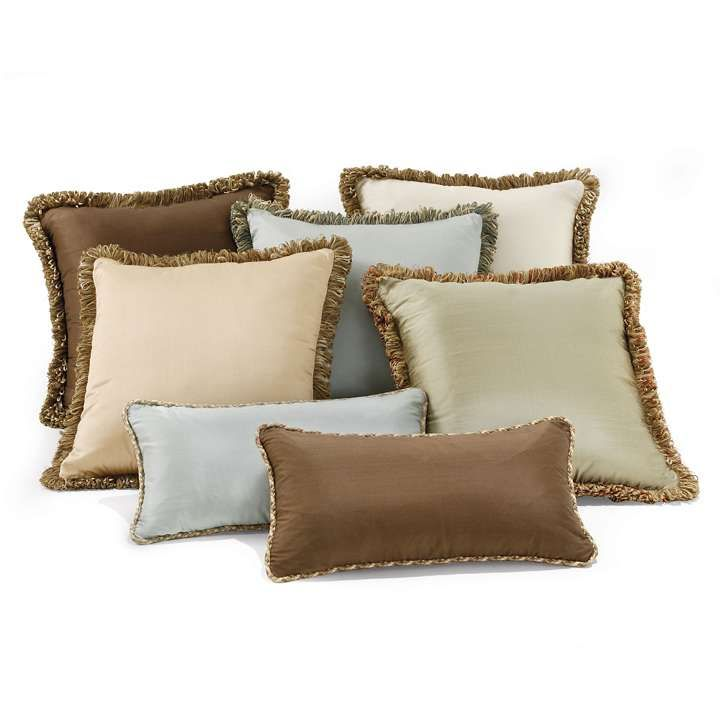 93 best pillows images on pinterest accent pillows for Bed decorative pillows