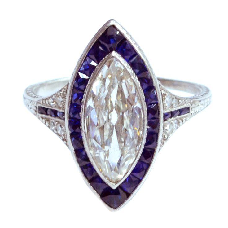 1stdibs Com Jewelry Amp Watches Edwardian Marquise Diamond