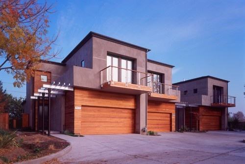 Is the siding material stucco or cement board and how was for Modern cement board siding