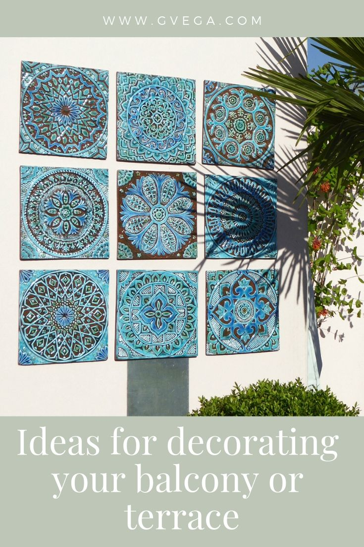 Ideas For Decorating Your Terrace Or Balcony Exterior Murals