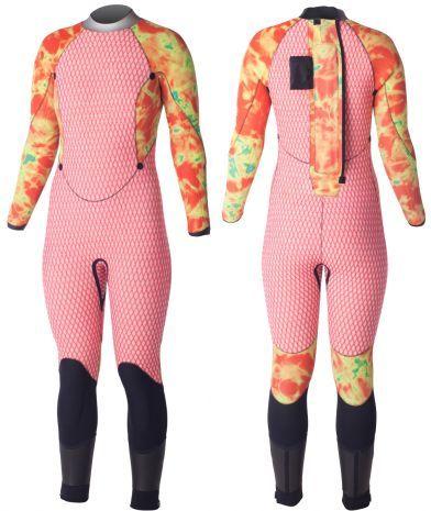 8/7/6mm Women's XCEL ThermoFlex TDC SCUBA Wetsuit