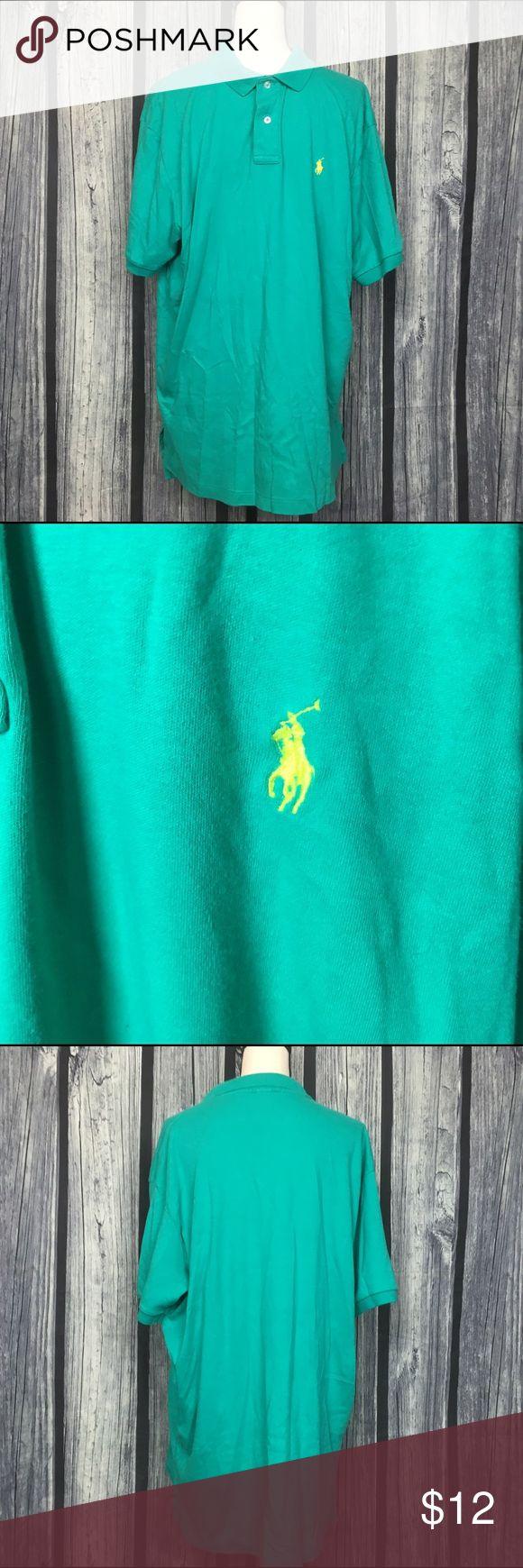 Polo Ralph Lauren Green polo shirt XL Polo Ralph Lauren Green polo shirt XL good condition open to offers Polo by Ralph Lauren Shirts Polos