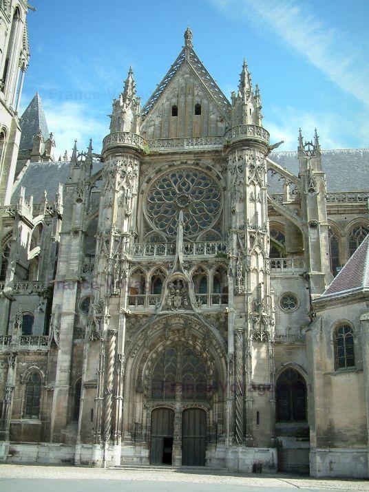 Senlis : Notre-Dame kathedraal (Gotische architectuur)