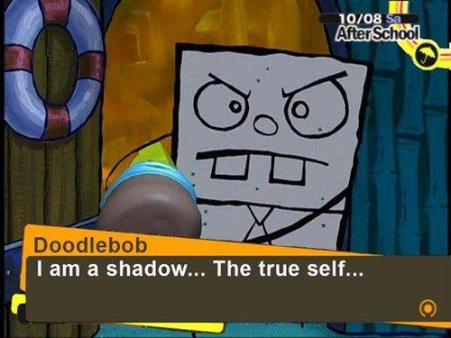 Bubble Buddy is Spongebob's #Persona