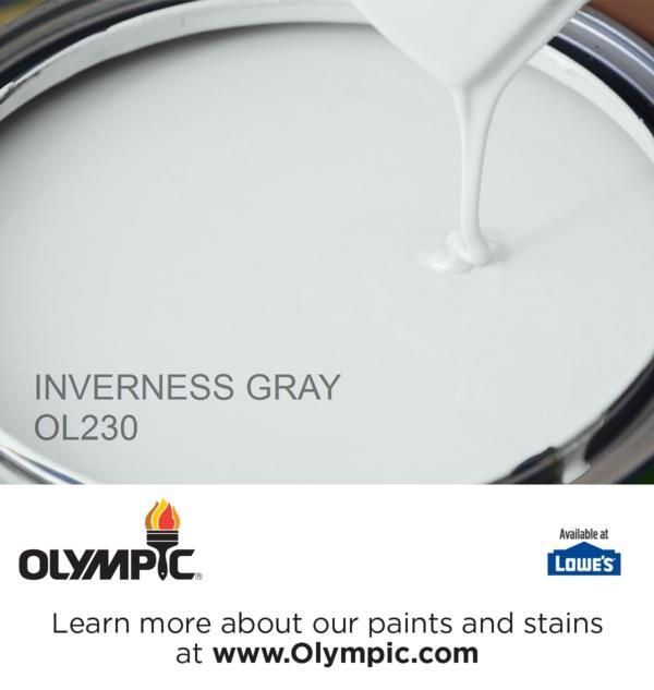 INVERNESS GRAY OL230 is a part of the aquas collection by Olympic® Paint.