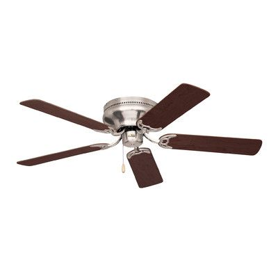 """Found it at Wayfair - 42"""" Contemporary Snugger 5 Blade Ceiling Fan"""