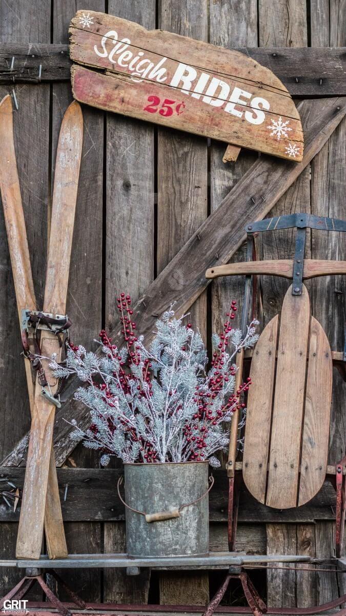 32 Wonderful Rustic Winter Decor Ideas That Still Work After Christmas