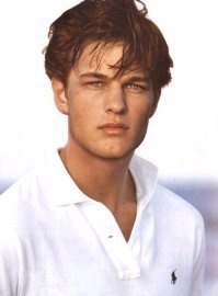 He seriously looks like a copy cat of Leonardo Dicaprio